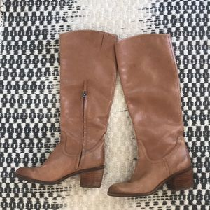 Sam Edelman 🐪 camel/tan leather knee high boots